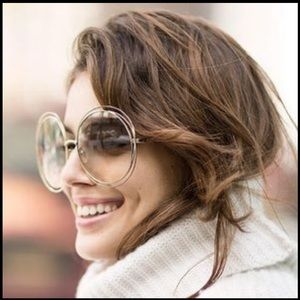 Chloé Carlina 18k Gold Limited Edition Sunglasses